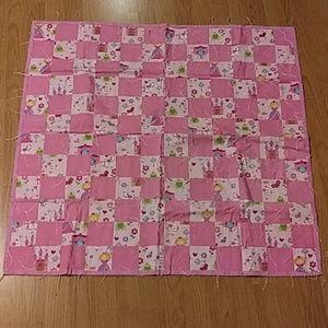 Baby girls quilt